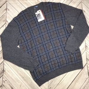 Altea Supergeelong Wool Crew Neck Sweater